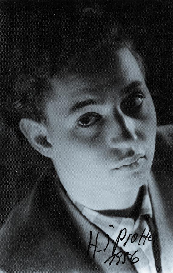 H.J. Psotta im Alter von 18 oder gerade 19 Jahren. Foto: unbekannt, NL HJP 43.