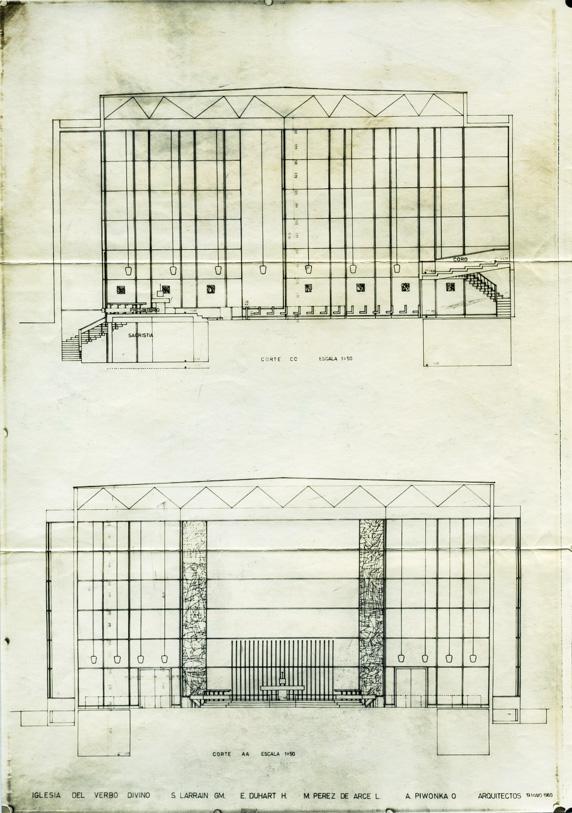Entwurf für das Colegio del Verbo Divino